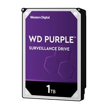 WD Purple 1-12TB Surveillance Hard Disk Drive HDD 7200 RPM SATA 6 Gb/s 256MB Lot