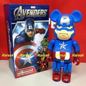 Medicom 2013 Be@rbrick Marvel The Avengers 400% Captain America bearbrick