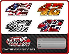 CUSTOM RACE CAR NUMBERS,imca,streetstock,latemodel,4cyl,sprint,ect