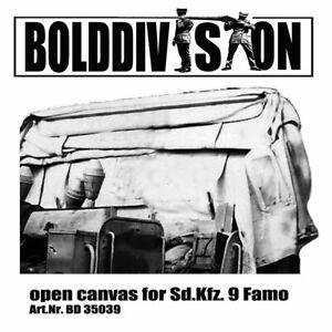 Bolddivision 1/35 SdKfz. 9 Famo Open Canvas for Tamiya kits