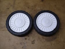 MOUNTFIELD HP/SP/HOMELITE  LAWNMOWER REAR WHEELS (MAY FIT OTHERS)