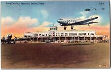 Dallas Texas Love Field Air Terminal c1954 Vintage Postcard R15