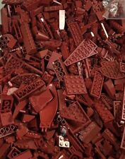 100pc Lego Dark Red Bulk Lot Of Bricks Plates Specialty - Star Wars Super Hero