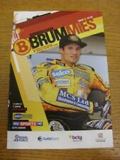 11/09/2013 Speedway Programme: Birmingham v Kings Lynn (4 Pages, results noted).