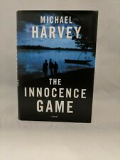 SIGNED & INSCRIBED- STATED FIRST EDITION The Innocence Game by Michael Harvey LN