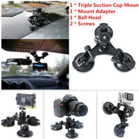 DSLR Suction Cup Action Video Camera Mount Holder Ball Head Car Window Mounts