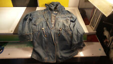 EMI Denim Jacket Women's size Small decent condition Vintage 80s Hipster