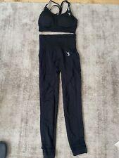 New listing V3 Apparel Black Leggings/Sports Bra Set. Size XS