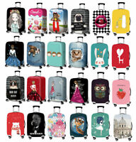 """18""""-32"""" Luggage Protector Cover Trolley Suitcase Elastic Travel Anti-dirty Case"""