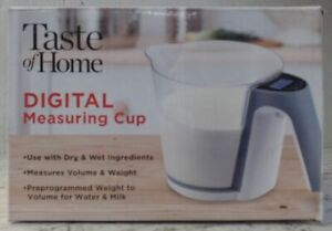 NEW Collective Goods Taste of Home Digital Measuring Cup