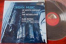 HMV CLP 1442 ORGAN MUSIC OF NORTH GERMANY NETHERLANDS LP PEETERS EX (1961)