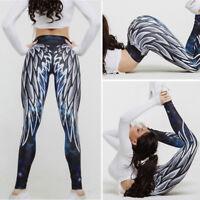 HOT Leggings Ladies Small Medium Large Yoga Gym Trouser Stretch Pants Women X207