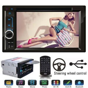 "For Toyota Hilux Land Kluger Prado Car Bluetooth Stereo DVD CD Radio 6.2"" 2 Din"