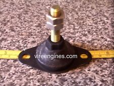 4 x VIRE 6/7 Engine Rubber Mounting Vibration Dampers (oval base)
