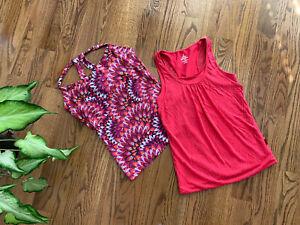 prAna Hiking Outdoor Camping Sleeveless Shirts Tops Women's Size XS-S (Lot of 2)