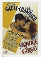 STRANGE CARGO ~ EMBRACE 26x38 MOVIE POSTER Clark Gable Joan Crawford