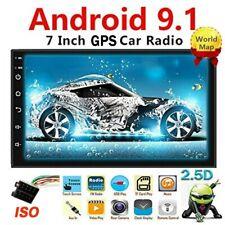 2 Din 7 Autoradio Android 9.1 GPS Navi Radio de coche WIFI FM Bluetooth ISO SP