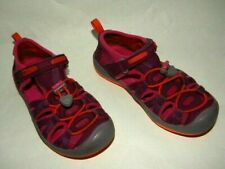 Keen Moxie Toddler Little Kid Girl's Sz 11 Purple Waterproof Adjustable Sandals