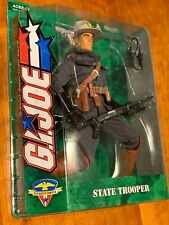 "Hasbro GI Joe 12"" State Trooper  2004 Security Forces Ethnic New - Mint On Card"