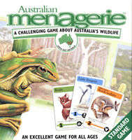 *NEW* Australian Menagerie Game - Challenging Family Fun Game - Aussie Wildlife