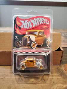 2021 Hot Wheels RLC Limited Edition Deuce Coupe HWC Special Edition '32 Ford