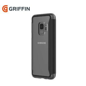 Griffin Survivor Samsung Galaxy S9+ Case Cover Clear Slim fit Wallet Clear Black