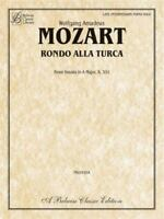 Rondo Alla Turca : From Sonata in A Major, K. 331 by Mozart, Wolfgang Amadeus
