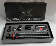 Xenvo SquidGrip Tripod Kit+SuperGrip Mount BallHead360 for Smartphone/CAM.