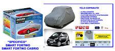 Copriauto- Telo Copriauto Smart fortwo Impermeabile 100%  - ventilato - leggero