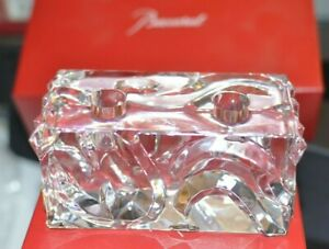 Baccarat Forest Of Dreams 2 Taper Candle Holder By Marcel Wanders Mint in Box