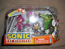 team chaotix pack jazwares nib charmy bee espio vector sonic the hedgehog toy