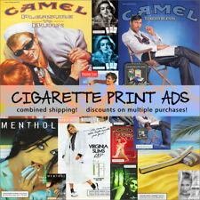 CIGARETTE BRAND Magazine Print Ads - YOUR CHOICE! Combined Shipping!