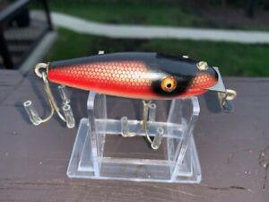 "vintage Creek Chub Dace 3"" SCAMP - BEAUTIFUL  fishing lure glass eyes CCBCO !"