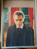 DRACULA - CHRISTOPHER LEE - Original Zeichnung !