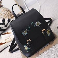 Girl Women PU Leather Travel Backpack Satchel Rucksack Laptop Bookbag School Bag
