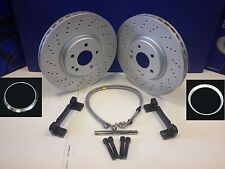 VW GOLF AUDI A3 SEAT LEON SKODA OCTAVIA 5x112 PCD PORSCHE BIG BRAKE UPGRADE KIT