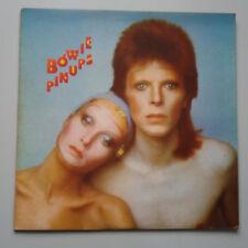 David Bowie - Pinups Vinyl LP + Insert 1st French Press RCA Orange Label