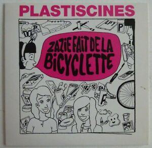 PLASTISCINES : (ZAZIE FAIT DE LA) BICYCLETTE ♦ CD SINGLE PROMO ♦