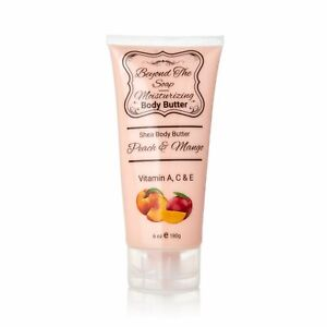 Shea Body Butter Peach & Mango 8 oz.