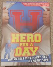 Hero For A Day Inflatable Vest And Cape, Brand New In Box!