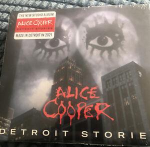 ALICE COOPER - DETROIT STORIES [2021 CD] - NEW & SEALED Free Post U.K.