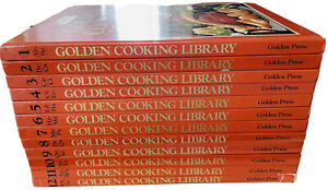 VINTAGE Golden Cooking Library by The Australian Women's Weekly 1-12 Full Set HC