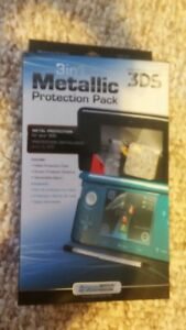 DreamGEAR 3-in-1 Metallic Protection Pack for Nintendo 3DS
