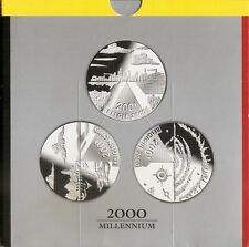 200 frank 2000  FRANS+NEDERLANDS-DUITS * QP-PROOF set * ALBERT 2 * nr 9723
