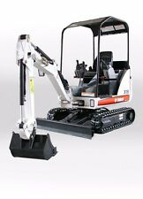BOBCAT 319 Compact Excavator Service and Operation  Manual CD