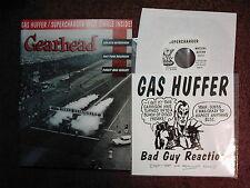 "GEARHEAD #1 punk fanzine w/ GASHUFFER/SUPERCHARGER 7"" *The DIDJITS *V.Rare+OOP!"