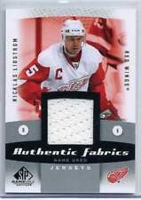 2010-11 SP Game Used Nicklas Lidstrom Fabrics Game Used Jersey Card (Box DP)