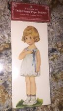 "1983 ""dolly Dimple"" Paper Doll Costume The Shackman Set -"