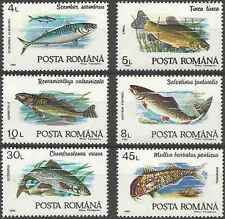 Timbres Poissons Roumanie 3991/6 ** lot 17056
