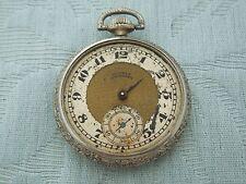 Antique Hampden pocket watch # 302, needs some work but complete for restoration
